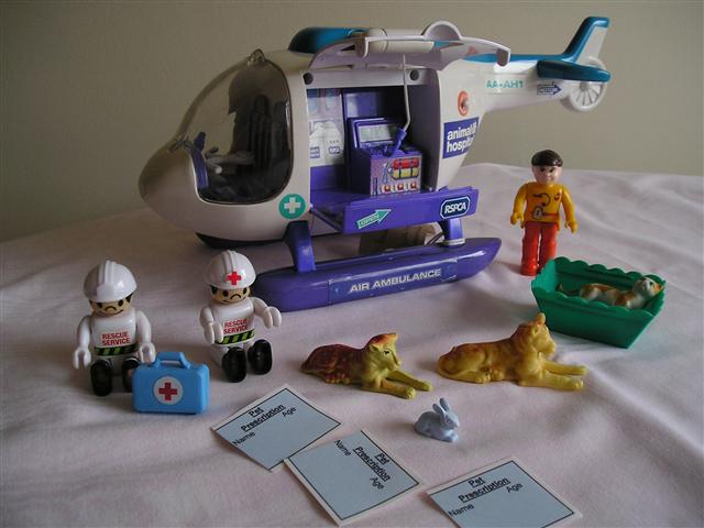 Imaginary toys