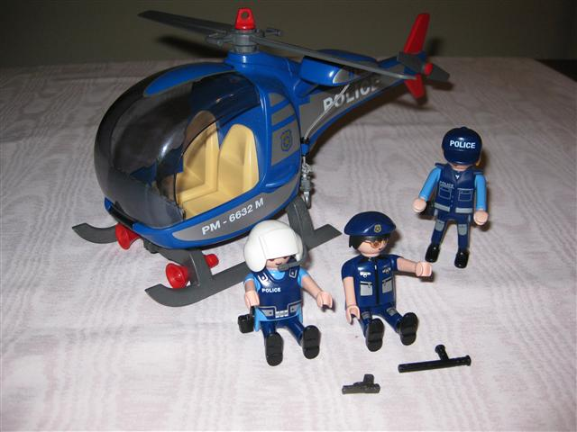 Playmobil Police Helicopter  486