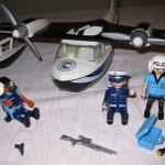 Playmobil Police Rescue Plane