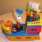 Mega Bloks Pirate ship 473