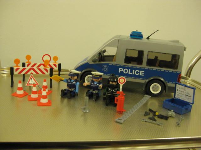 111 Police Van